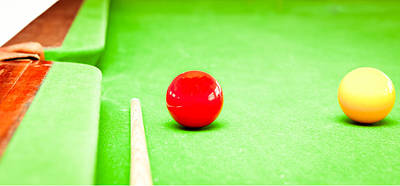 Cue Ball Photograph - Billiard Table by Tom Gowanlock