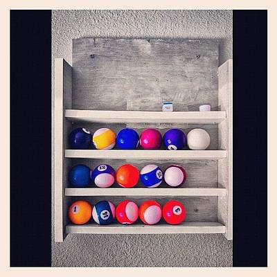 Stroke Wall Art - Photograph - #billiards #break #cueball #stroke by Jp Bernaldo