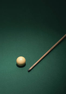 Cue Ball Photograph - Billiards by Datacraft Co Ltd