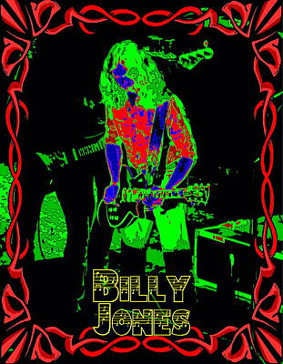 Photograph - Billy Gets Psychedelic by Ben Upham