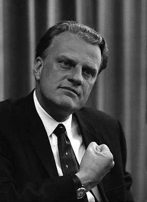 Billy Graham Was A Prominent Christian Art Print by Everett