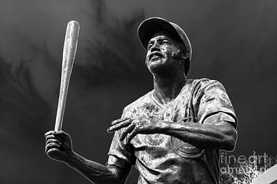 Billy Williams - H O F Art Print by David Bearden