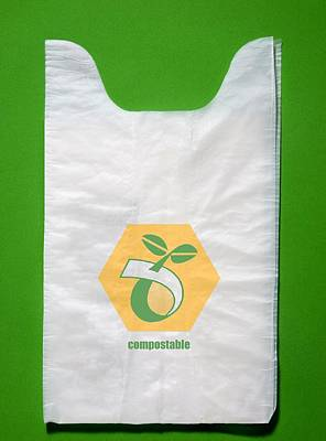 Polymer Photograph - Biodegradable Plastic Bags by Sheila Terry