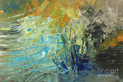 Painting - Biosphere 2 by Tatiana Iliina