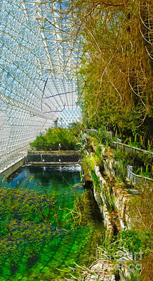 Biosphere2 - Environment 1 Art Print by Gregory Dyer