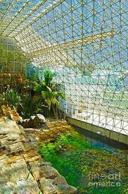 Biosphere2 - Environment 2 Art Print by Gregory Dyer