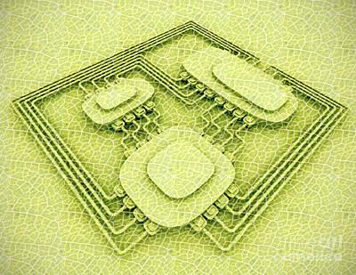 Biotech Art Print