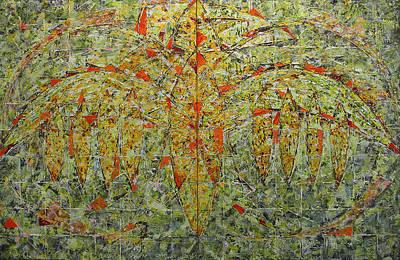 Painting - Bird 2 by Hermann Lederle