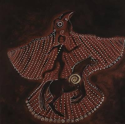 Bird Dream Original by Sophy White