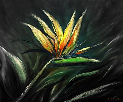 Painting - Bird Of Paradise 111 by Gina De Gorna