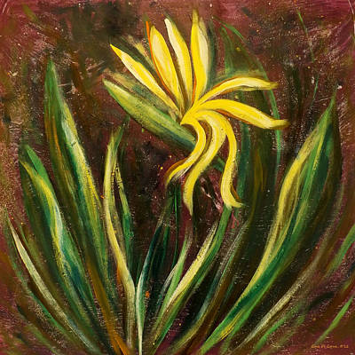 Painting - Bird Of Paradise 123 by Gina De Gorna