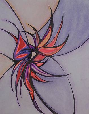 Bird Of Paradise Art Print by Tara Francoise
