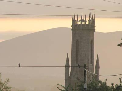 Photograph - Bird On A Wire by Joseph Doyle