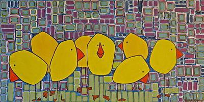 Bird Pack Original by Donna Howard
