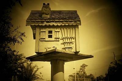 Floyd Smith Photograph - Birdhouse by Floyd Smith