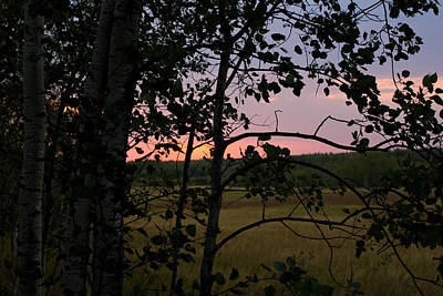 Photograph - Birds Hill Park Sunset by Joanne Smoley
