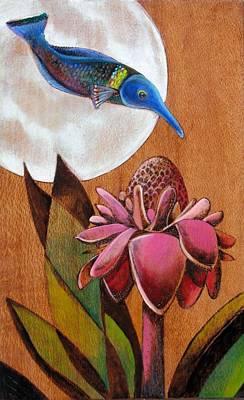 Birdwrasse Original by Bea Israel