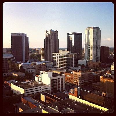 Politicians Wall Art - Photograph - Birmingham From 283 Feet by Thomas Jefferson Tower