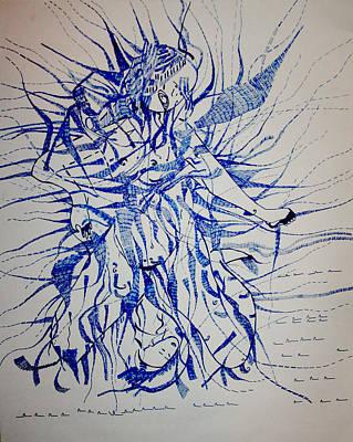 Fertility Drawing - Birth by Gloria Ssali
