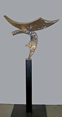 Sense Of Movement Sculpture - Birth Of The Phoenix by John Neumann