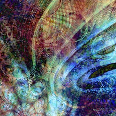 Digital Art - Birth Of The Universe by Barbara Berney