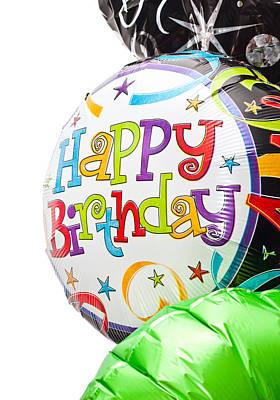 Birthday Balloons Print by Tom Gowanlock