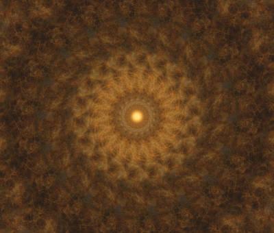Shower Digital Art - Birthing Mandala 19 by Rhonda Barrett