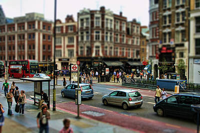 Pubs Photograph - Bishopsgate by Heather Applegate