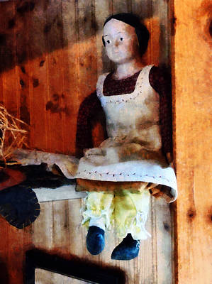 Photograph - Bisque Doll by Susan Savad