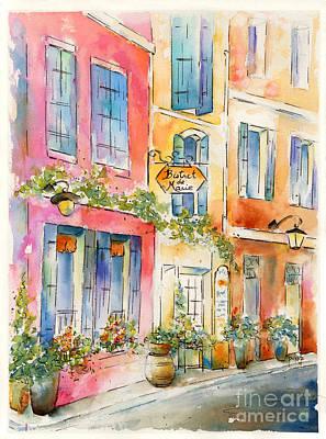 Painting - Bistrot De Marie by Pat Katz