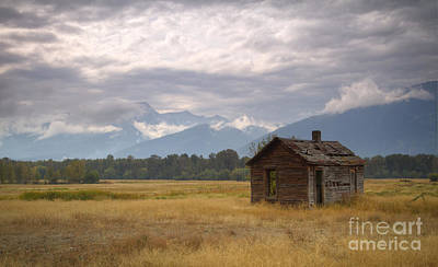 Bitterroot Homestead Art Print by Idaho Scenic Images Linda Lantzy
