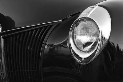 Photograph - Black And White Ford 2 by Scott Hovind