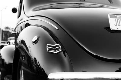 Photograph - Black And White Ford 3 by Scott Hovind