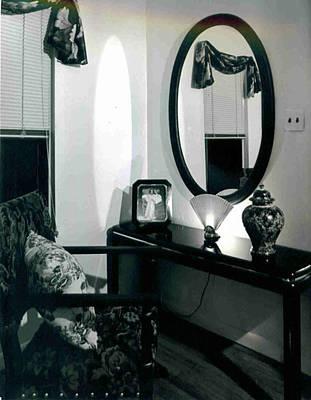 Black And White Mirror Original by J erik Leiff