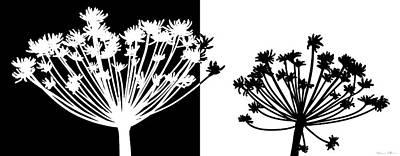 Black And White Art Print by Nomi Elboim