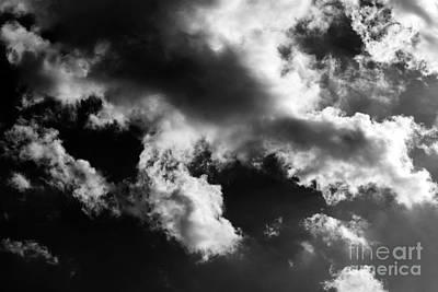Photograph - Black And White Sky by Erica Hanel