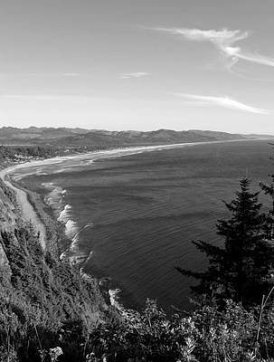 Photograph - Black And White View Point by Chris Anderson