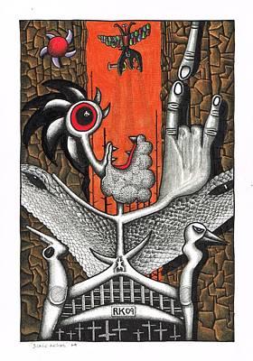 Black Angel Original by Rolfe Knudsen