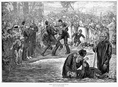 Black Baptism, 1887 Art Print by Granger