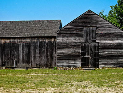Photograph - Black Barn  by Colleen Kammerer