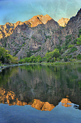 Black Canyon 4 Art Print by Marty Koch