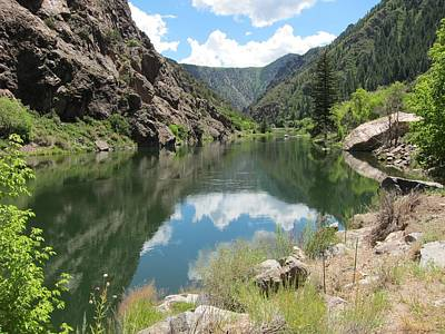 Black Canyon River Art Print