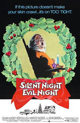Photograph - Black Christmas, Aka Silent Night, Evil by Everett