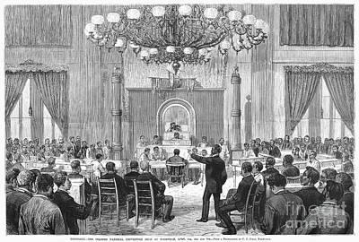 Black Convention, 1876 Art Print by Granger