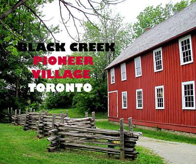 Photograph - Black Creek Poster by Ian  MacDonald