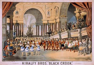 Black Crooks Was First Produced In New Art Print by Everett