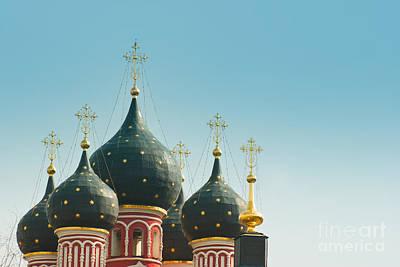 Black Domes Art Print by Boris Suntsov