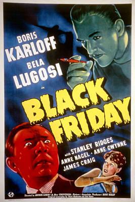 Black Friday, Bela Lugosi, Anne Nagel Print by Everett