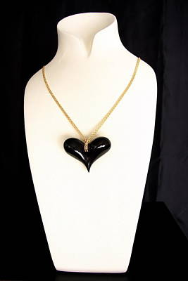 Ciondolo Jewelry - Black Heart  by Emanuele Rubini