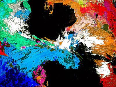 Black Holes Art Print by Charles Yates
